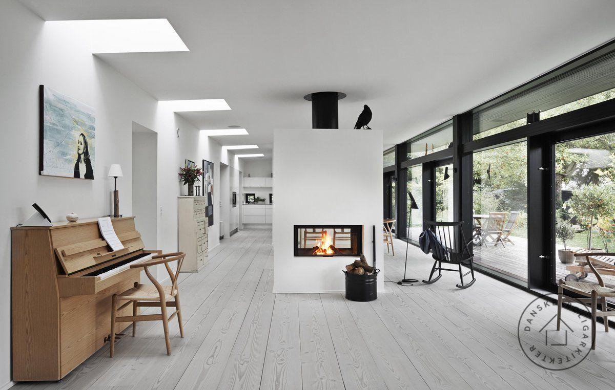 arkitekttegnet typehus med spændende lysindfald. rækken af, Modern Dekoo