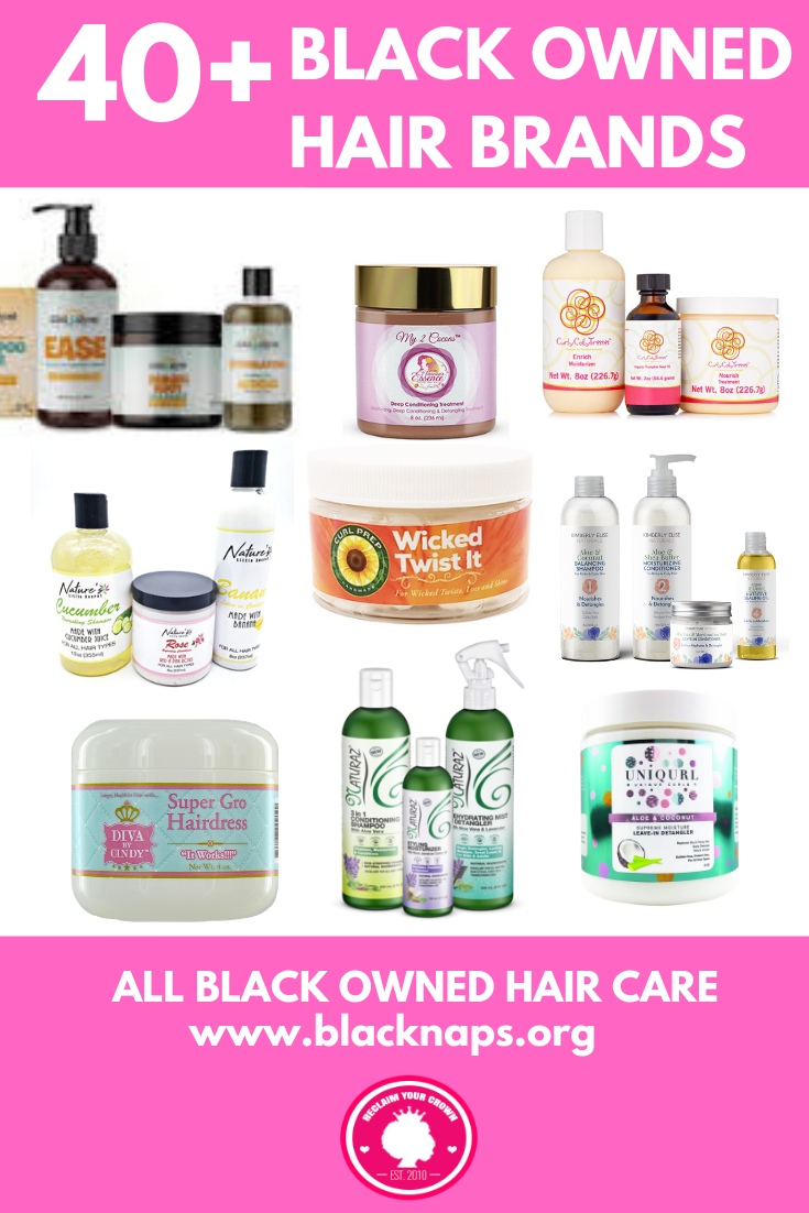 The best products for 4c hair, 4b and 4a hair types