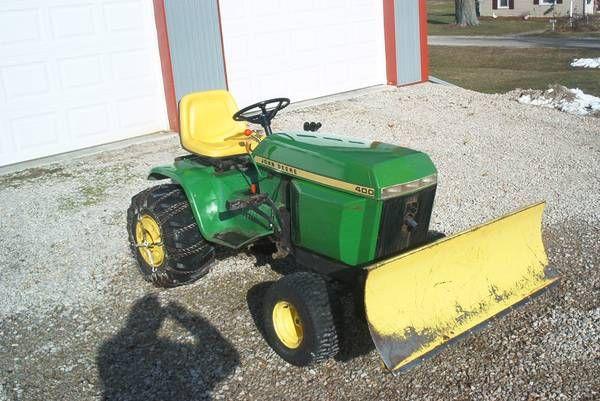 John Deere 400 on Craigslist | Tractors | John deere garden tractors