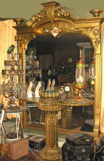 resin Syroco baroque frame transformed into a large wall shelf, - Google Search