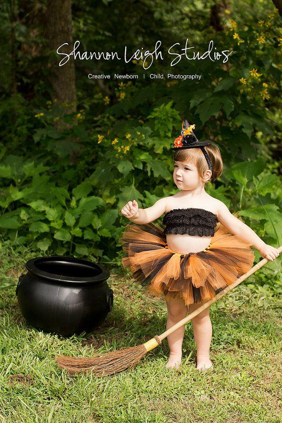 Baby Girl Halloween Costume Black And Orange Tutu Halloween Tutu And - halloween tutu ideas