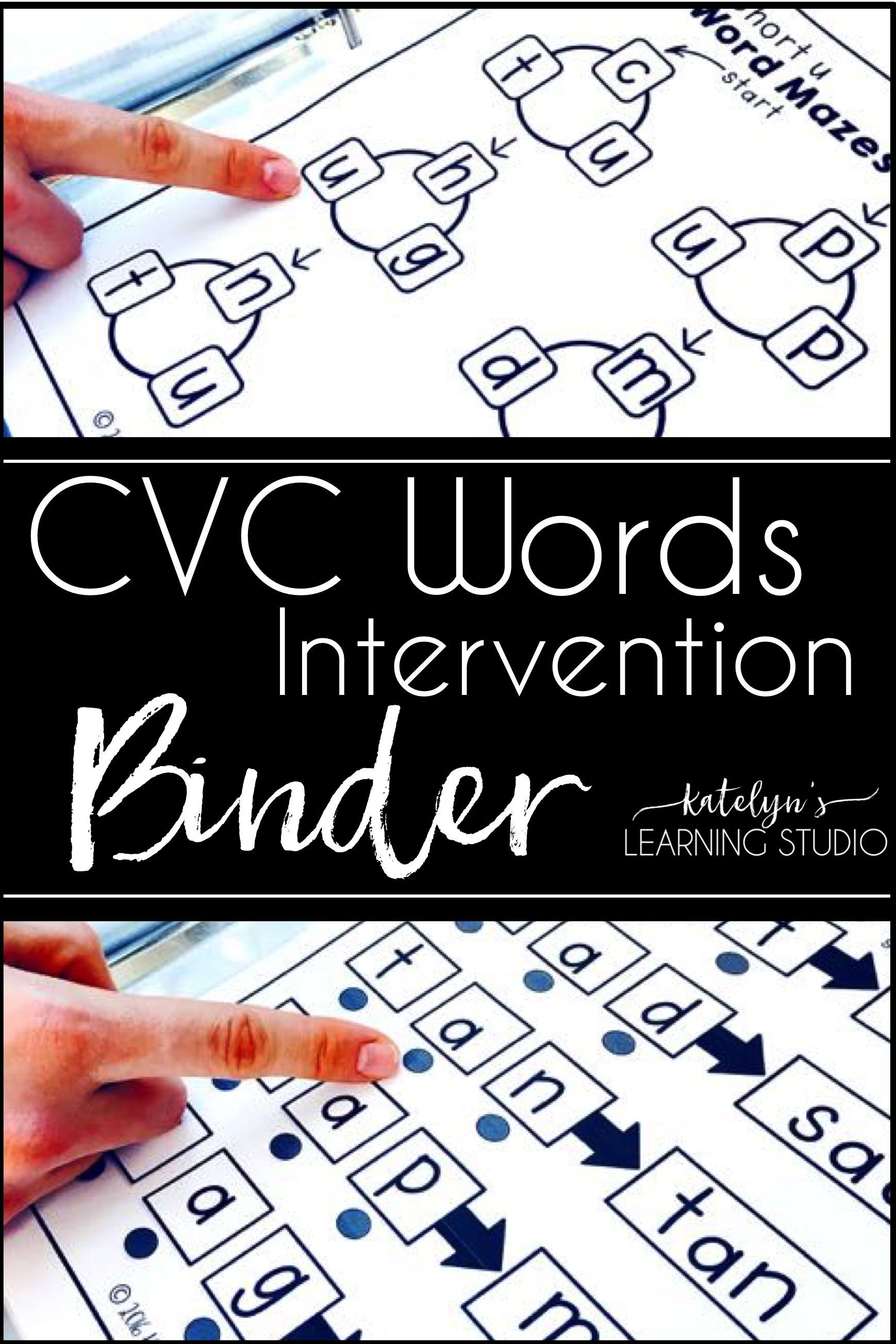 Cvc Words Intervention