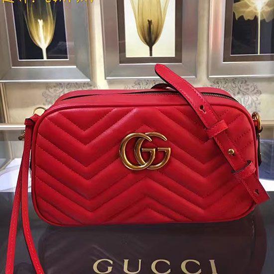 d255a6e271c Gucci GG Marmont Matelasse Shoulder Bag 447632