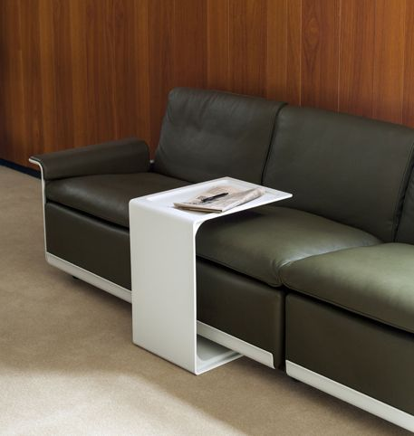 621 Side Table slides over 620 Sofa Living room Pinterest