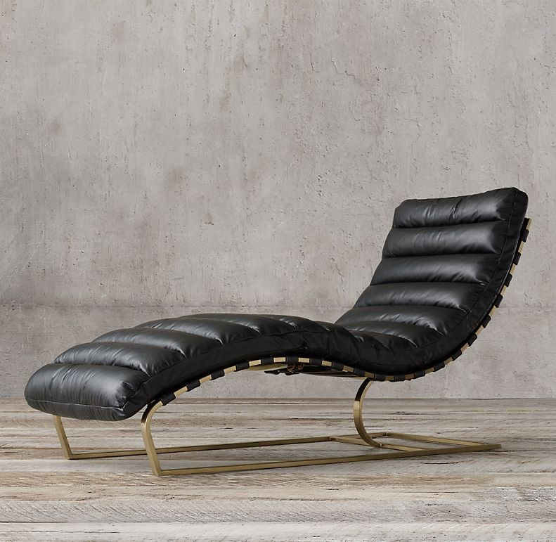 Oviedo Leather Chaise in 2020 | Leather chaise, Leather ... on Outdoor Living Shops Near Me id=63230