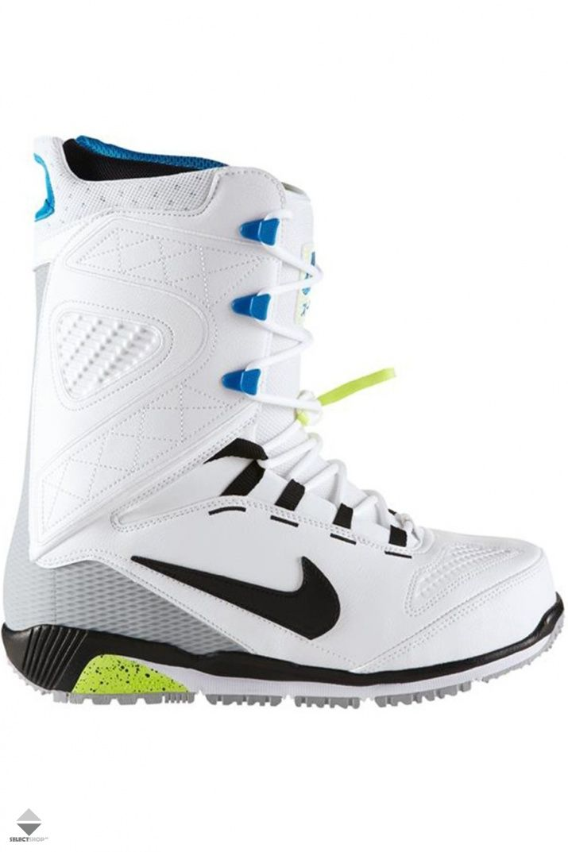 Buty Snowboardowe Nike Zoom Kaiju White Black Wolf 376276 105 Snowboard Boots Nike Boots Nike Zoom