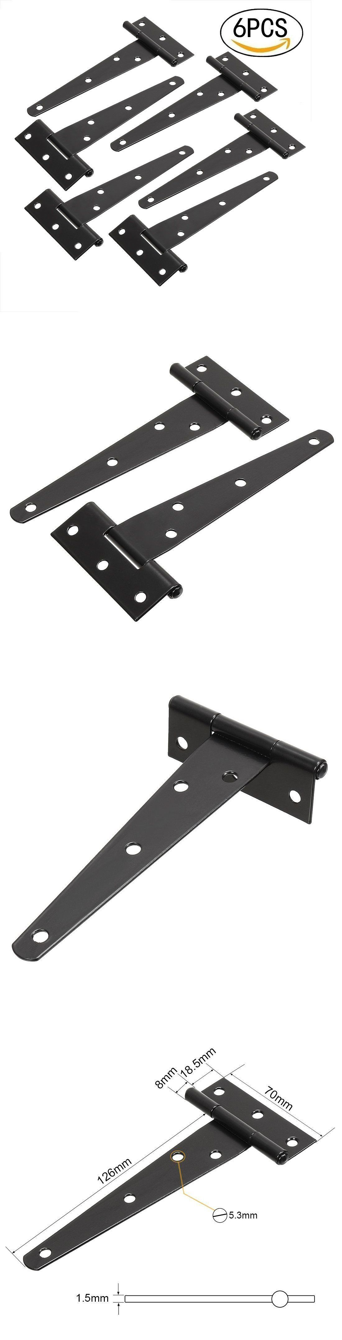 Door Hinges 66739: Tandb T-Strap Heavy Duty Shed Hinge Gate