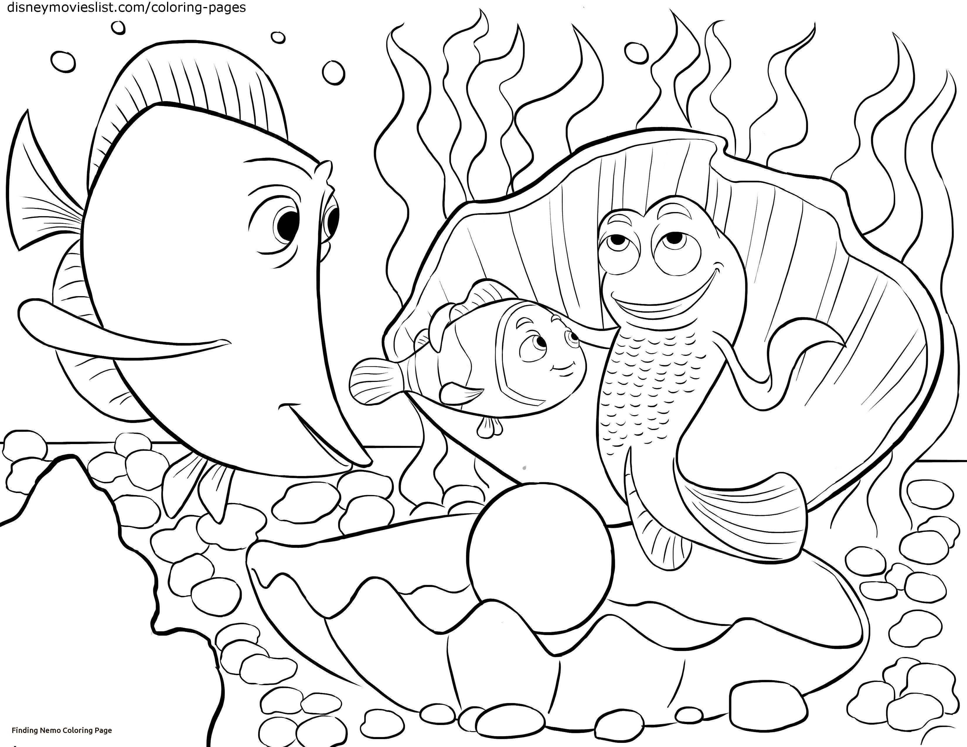 Finding Nemo Coloring Pages Unique Finding Dory Coloring Pages Nemo Coloring Pages Finding Nemo Coloring Pages Printable Coloring Book