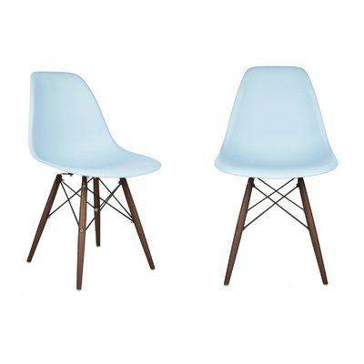 Sensational Langley Street Deandra Dining Chair Seat Finish Light Blue Machost Co Dining Chair Design Ideas Machostcouk