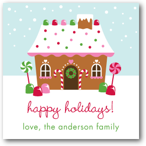 Gingerbread Greetings:Lightest Turquoise