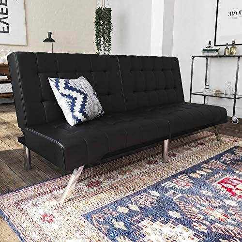 Awe Inspiring Details About Dhp Emily Futon Sofa Bed Modern Day Beatyapartments Chair Design Images Beatyapartmentscom