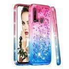 For Samsung Galaxy A10 A10E A20 A30 A70 Diamond Glitter Hard Liquid Ca