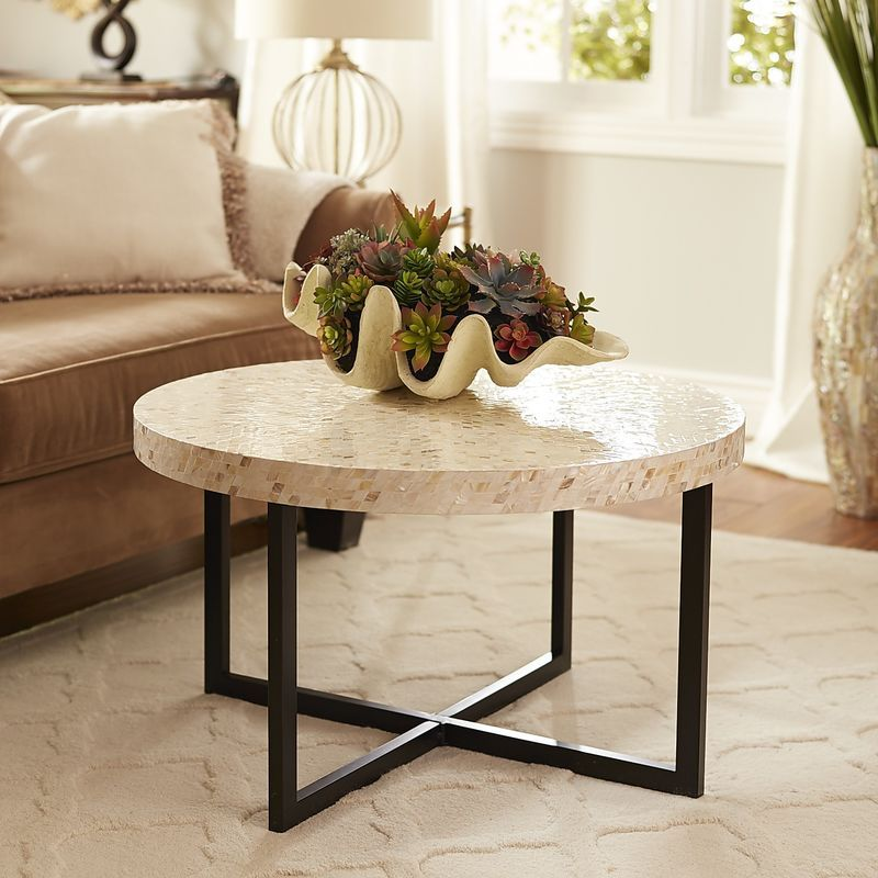 Mother Of Pearl Coffee Table Pier 1 Imports Mosaic Coffee