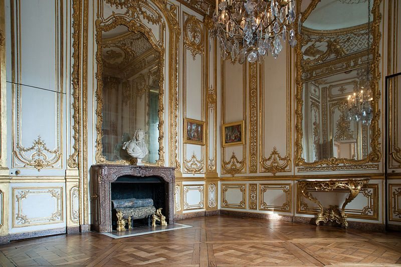 Petit appartement du roi in the Palace of Versailles,View of the