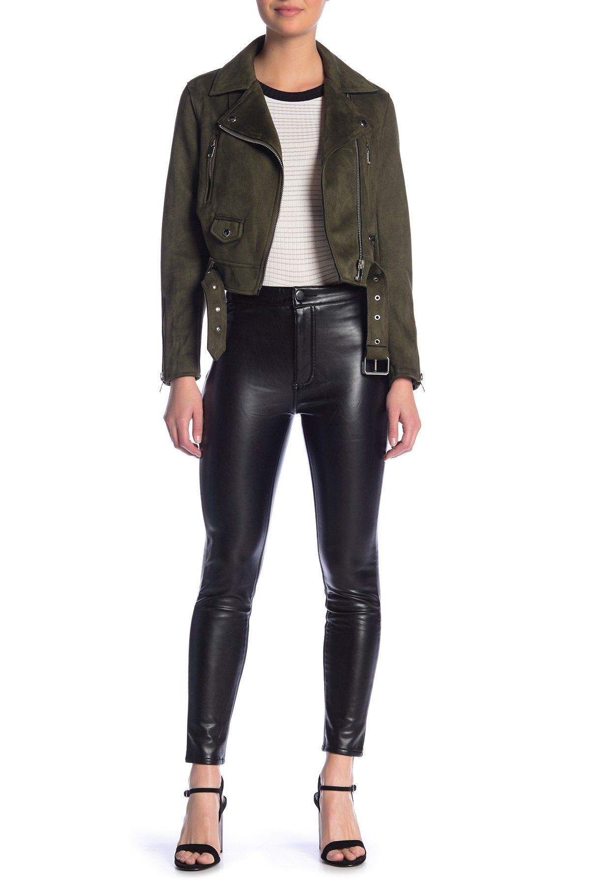 35b80a20a1 ASHLEY MASON | High Rise Faux Leather Pants in 2019 | Clothing ...