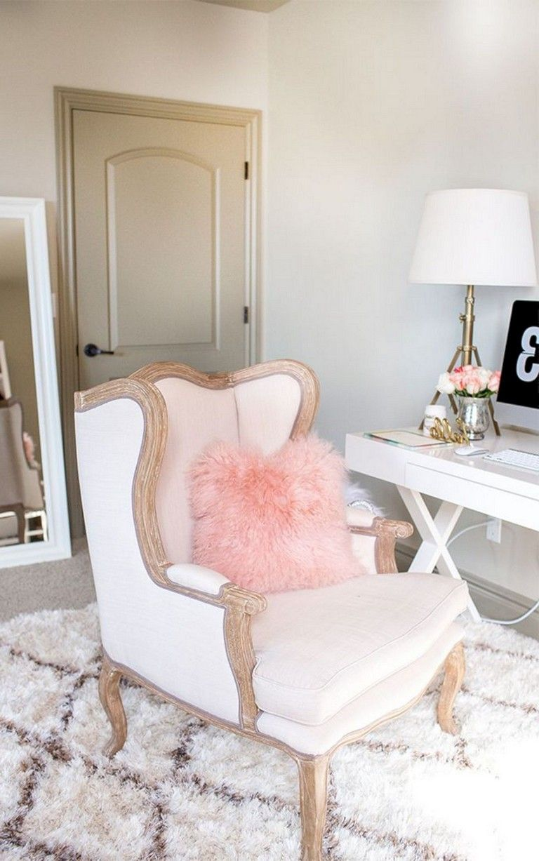 30 nice romantic pink home offices color scheme ideas on office color scheme ideas id=39981