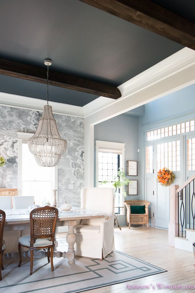 Light Blue Dining Room Chairs