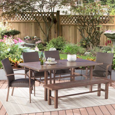 Patio Garden For The Home In 2019 Wicker Dining Set Outdoor