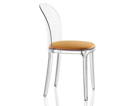 Magis Vanity Clear Dining Chair Home Decor