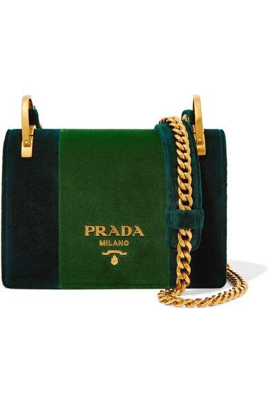 5f9b2c511d15 PRADA . #prada #bags #shoulder bags #hand bags #velvet # | Prada ...