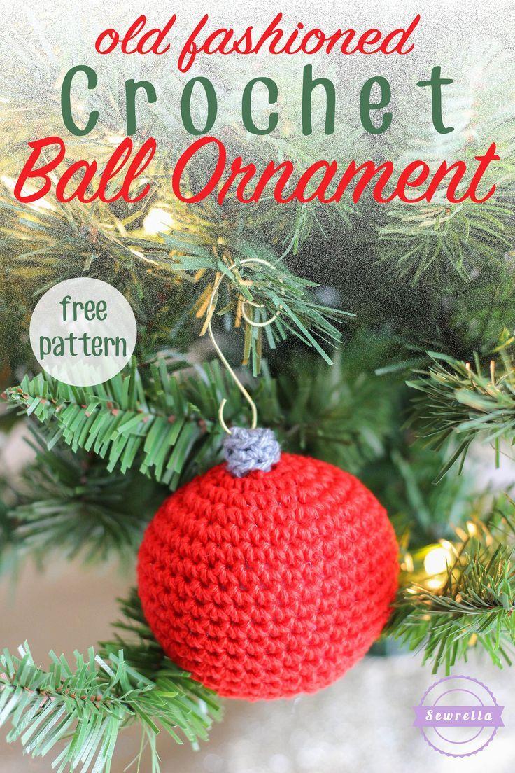 Old Fashioned Crochet Ball Ornament | SeW*CrOcHeT*KniT GaLoRe ...