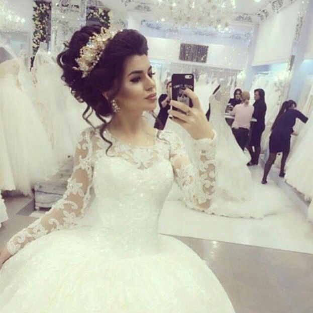 Kurdish Bride Pinterest Kvrdistan Long Sleeve Bridal Dresses