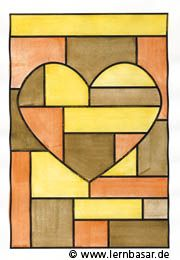 geometrische formen ton in ton tolle idee f r ihren kunstunterricht unbedingt kaufen. Black Bedroom Furniture Sets. Home Design Ideas