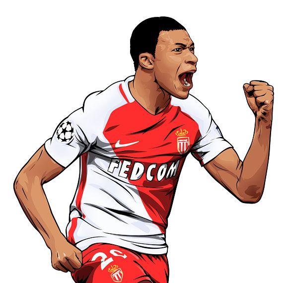 Articles De Bulge Football Taggés Thierry Henry: Kylian Mbappé Comme Monaco Affiche