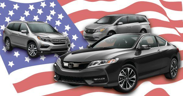 Honda Named 3 Of The 8 Vehicles For American Made Index CARSCOM