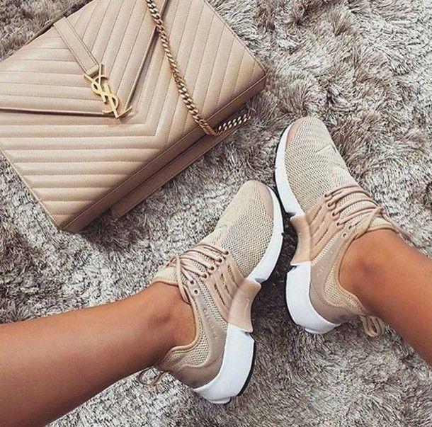 shoes nike tan | Sapatos, Women's shoes