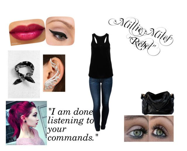 """""""Millie Miles Redone"""" by imaginestronger ❤ liked on Polyvore featuring THVM, Hallhuber, LORAC and Nikos Koulis"""