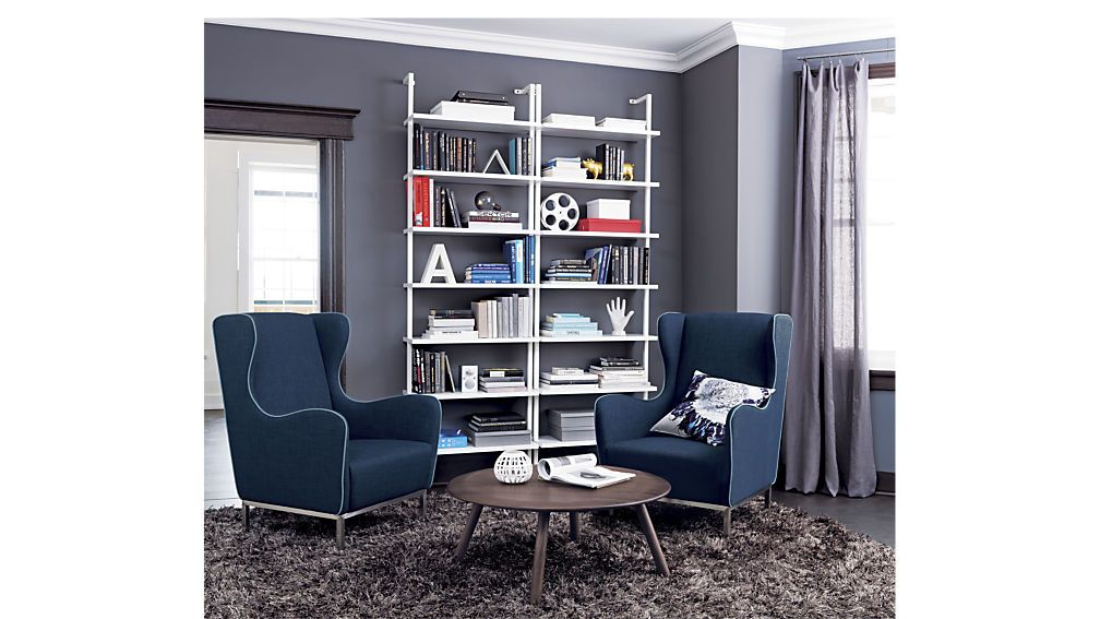 stairway white 96 wall mounted bookcase bookcase media on wall mount bookshelf id=17856