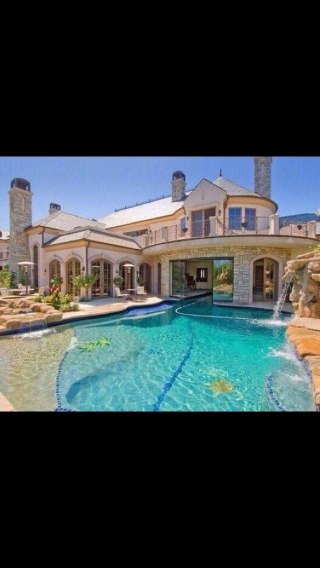 Modren Indoor Outdoor Pool House E On Design
