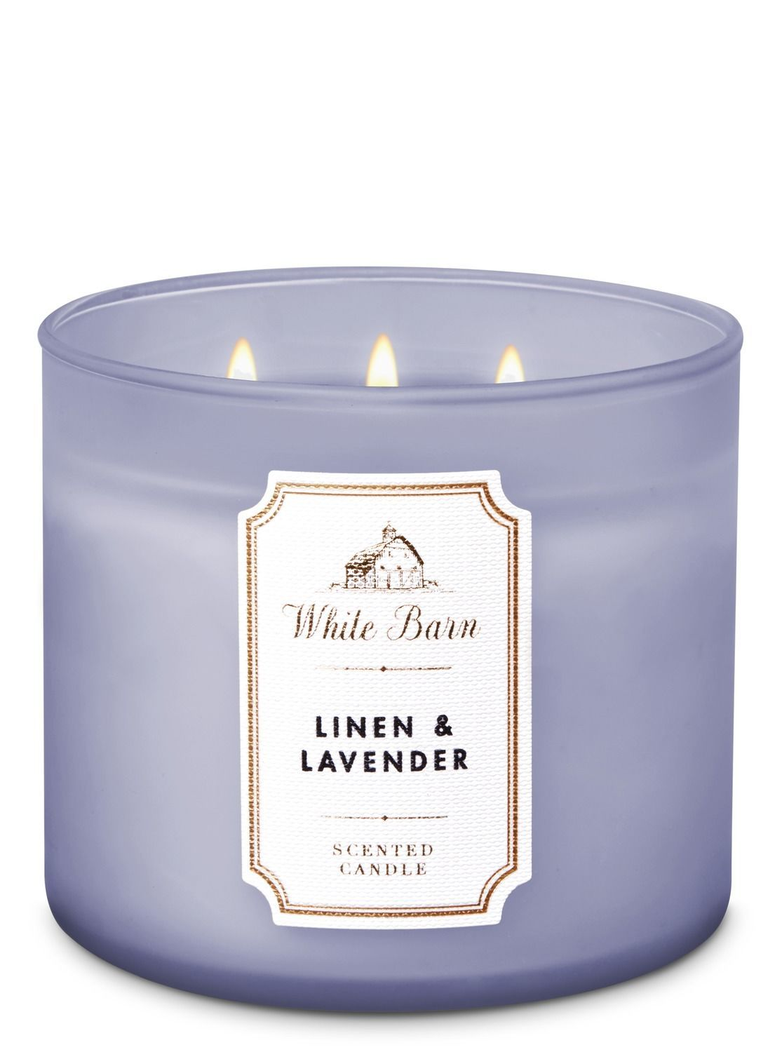 NEW 1 BATH /& BODY WORKS LAVENDER MARSHMALLOW 3-WICK 14.5 OZ SCENTED LARGE CANDLE