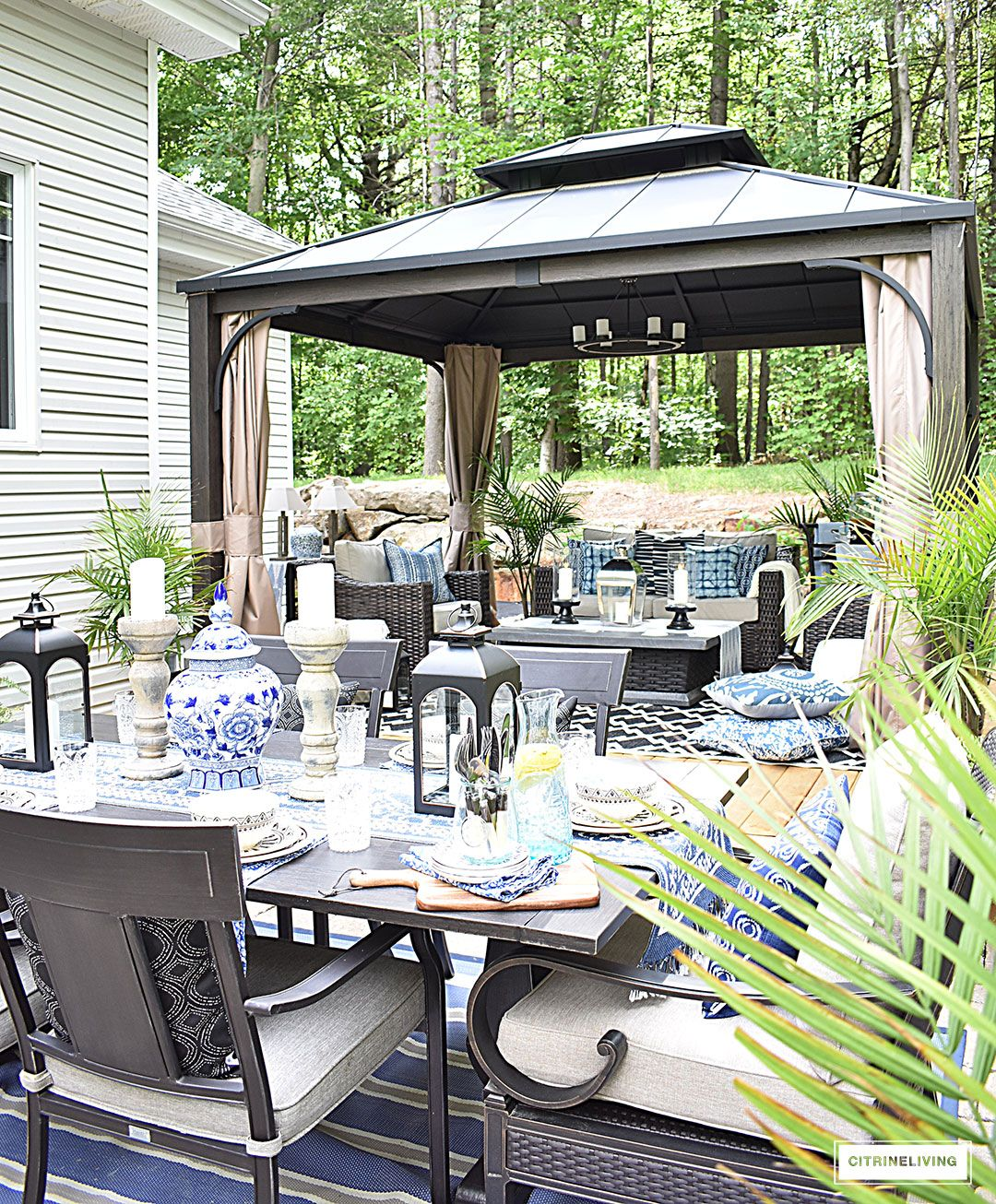 Patio Garden Ideas For Every Space: OUR NEW BACKYARD PATIO REVEAL