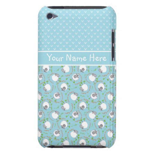iPod Touch 4 Case: Blue Fun Sheep Patterns: up to $47.95 - http://www.zazzle.com/ipod_touch_4_case_blue_fun_sheep_patterns-179749371680393202?rf=238041988035411422&tc=pintw