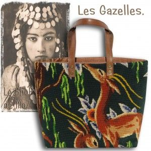Gazelle, #gazelle #stitches #frenchart leshopdemoz.com