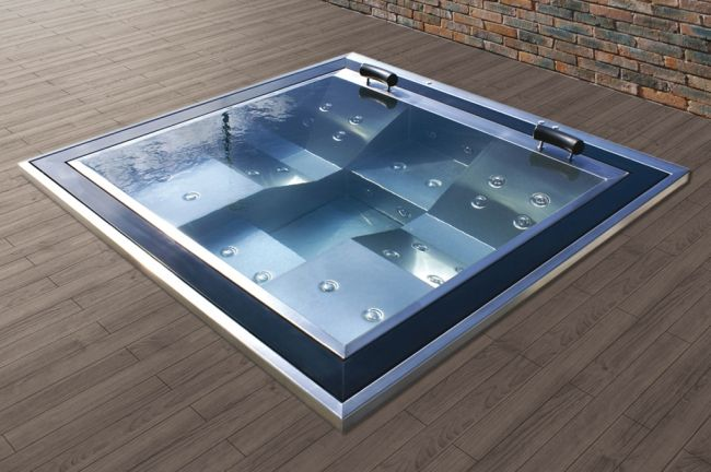 spa inox d bordement p riph rique stainless steel astralpool bien tre et spa pinterest. Black Bedroom Furniture Sets. Home Design Ideas