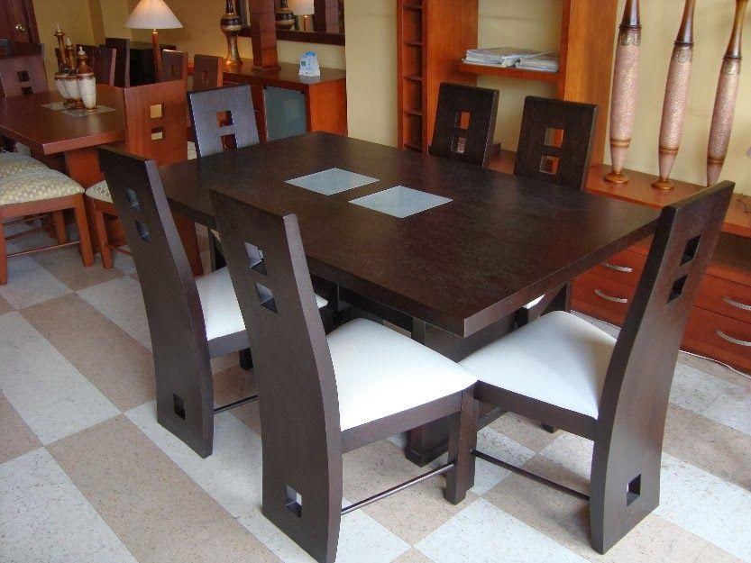 Mesa modelo 04 deco pinterest modelo mesas y comedores for Modelos comedores