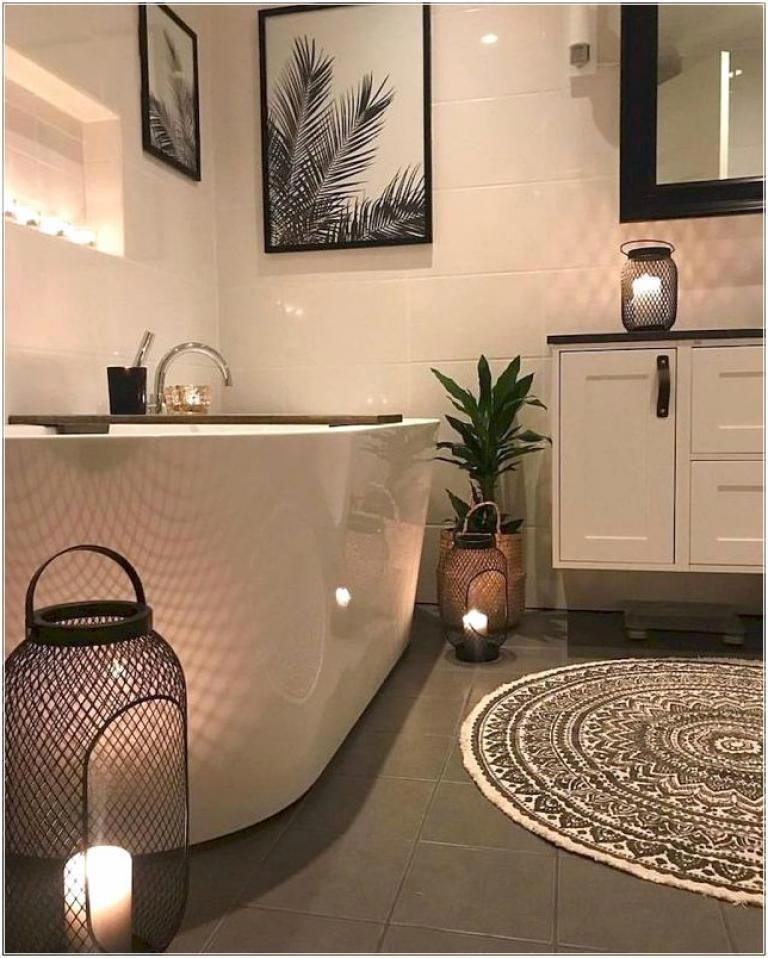 40 stunning small master bathroom remodel ideas