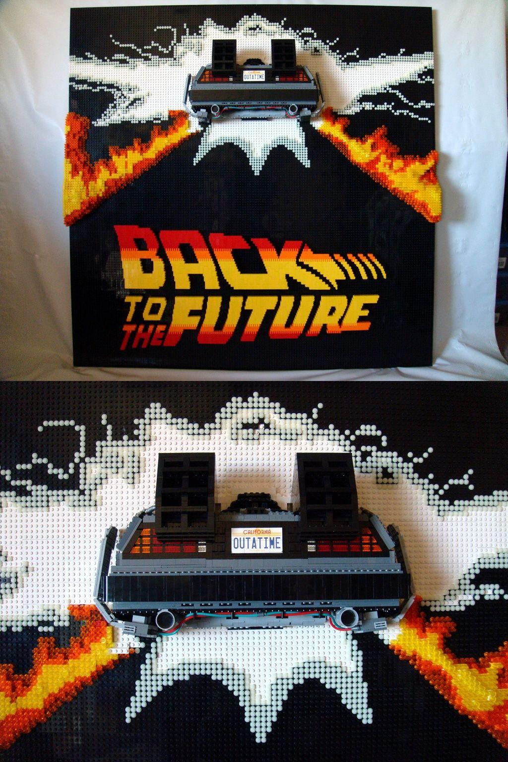 To Vers FutureLego Retour FuturEt Futur The Back Le UVqpSMz