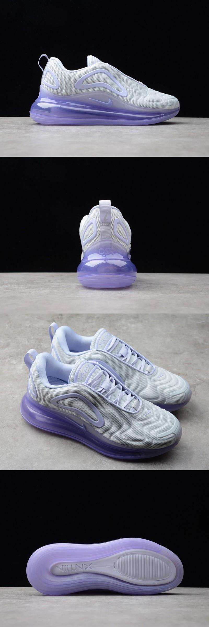Nike W Air Max 720 Pure Platinum Oxygen Purple AR9293009