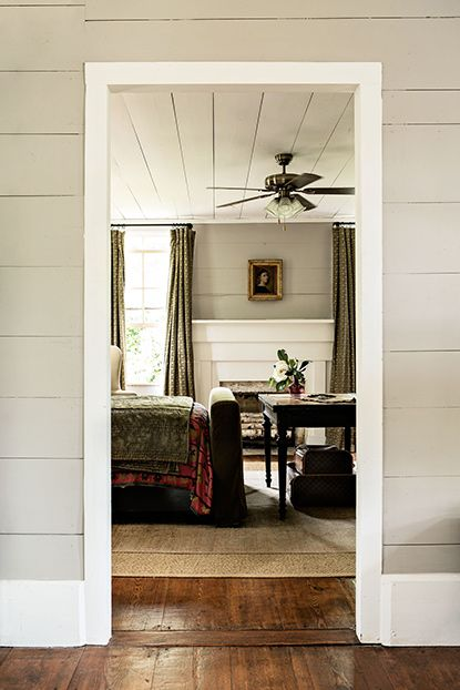 Beautiful Shiplap Wall Details In Keith G Robinson S Home