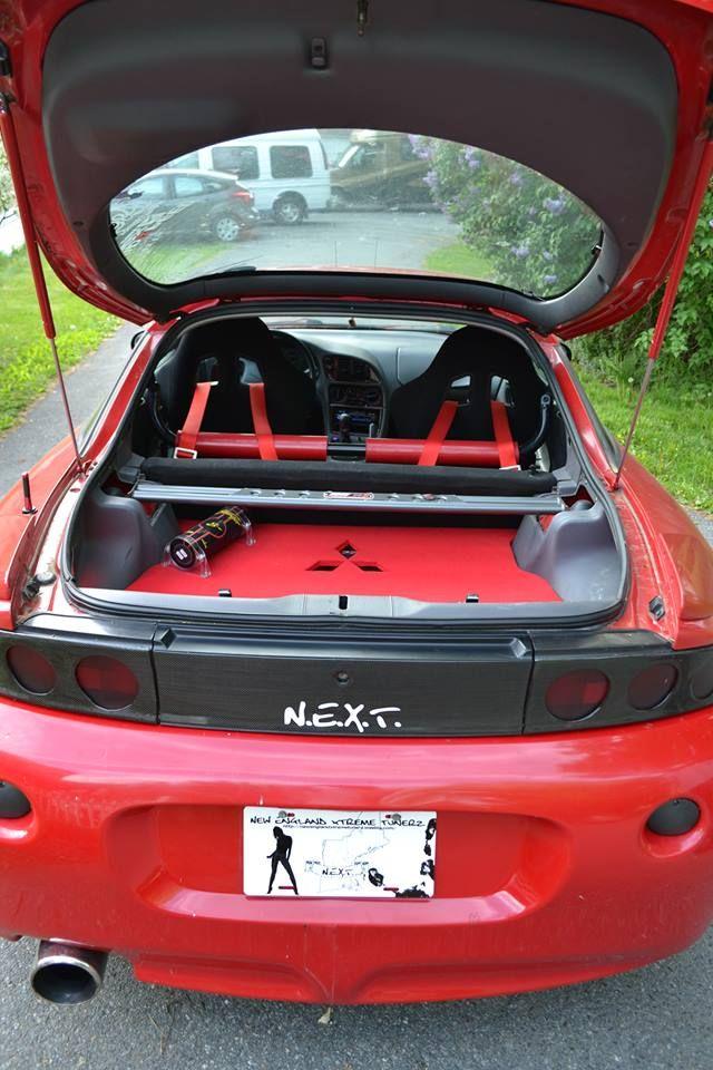 1997 DSM Gen 2 Mitsubishi Eclipse sound system