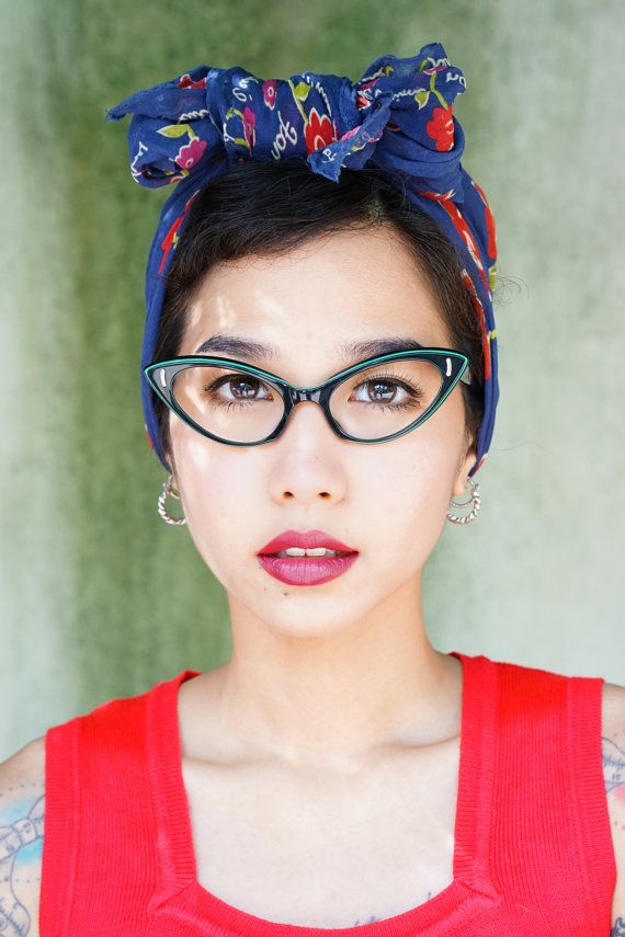 e632eee921c Vintage Eyeglass Cat eye glasses 1960 s Frame by hisandhervintage ...