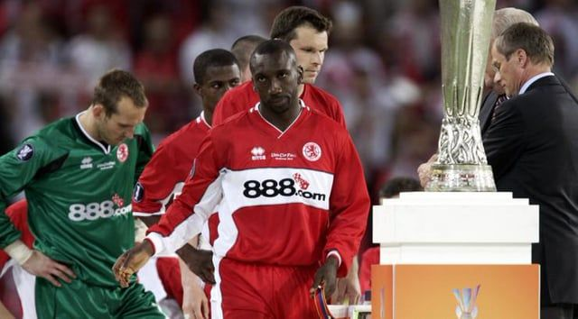 Middlesbrough V Sevilla 5 10 06 Middlesbrough Sevilla Sports Jersey