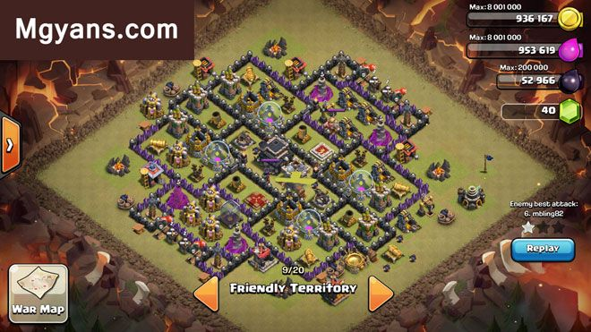 20 Town Hall 9 Base Designs March 2015  Clash of Clans