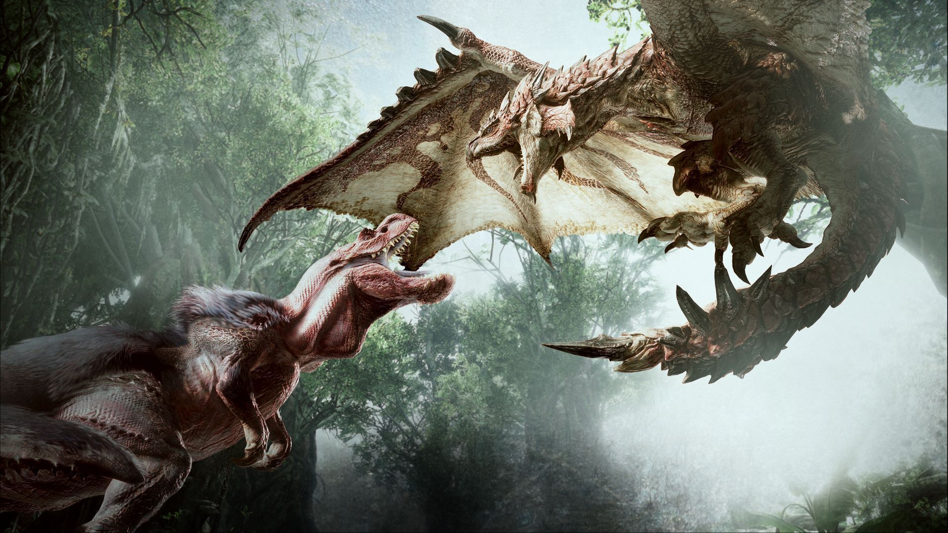Milla Jovovich S Monster Hunter Movie Will Mostly Use Creatures From Monster Hunter World Geektyrant Monster Hunter World Wallpaper Monster Hunter Monster Hunter World
