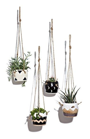 Photo of Small Spells Hanging Planter with Twine available at #Nordstrom Hanging planters…