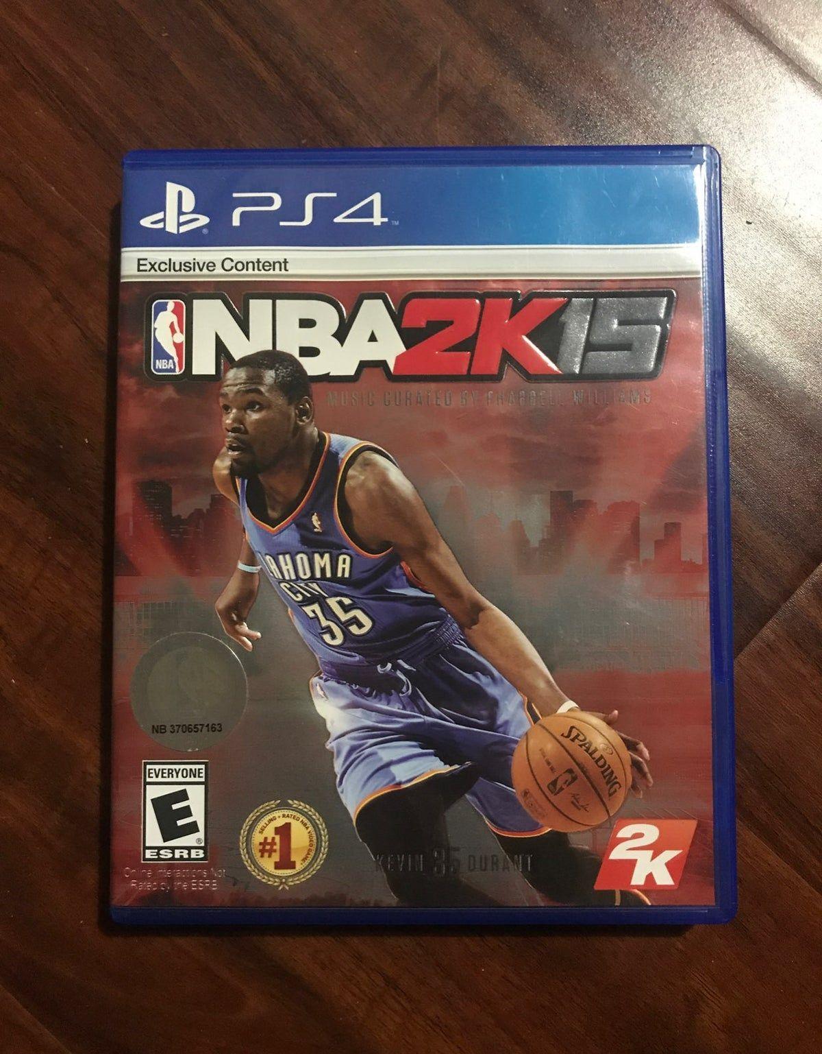 Nba 2k15 Ps4 Basketball Video Game Basketball Video Games Baseball Video Games Nba